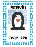 Tear Art Penguin