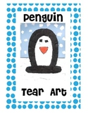 Tear Art Penguin