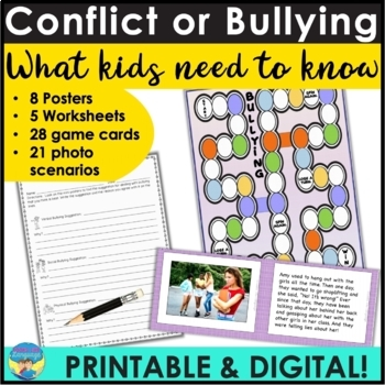 Social Skills Activities: Bullying Facts and Vocabulary