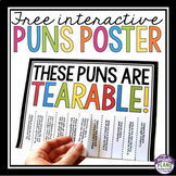 FREE PUNS POSTER: TEARABLE PUNS