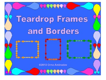 Teardrop Frames and Borders