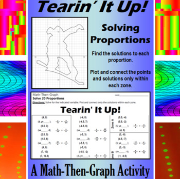 Tearin It Up! - A Math-Then-Graph Activity - Solving Proportions