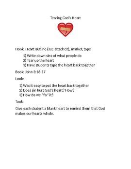 Tearing Gods Heart