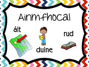 Téarmaíocht Ghramadaí na Gaeilge // Irish Grammar Terminology