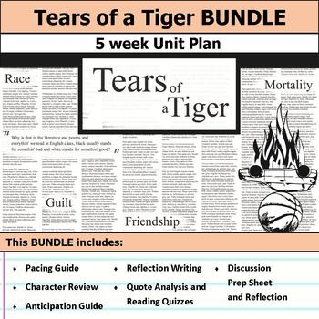 tears of a tiger unit by s j brull teachers pay teachers rh teacherspayteachers com Tears of a Tiger Quotes Tears of a Tiger Movie