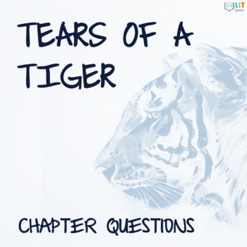 Tears of a Tiger by Sharon Draper - Homework, Analysis Questions, Reading Skills