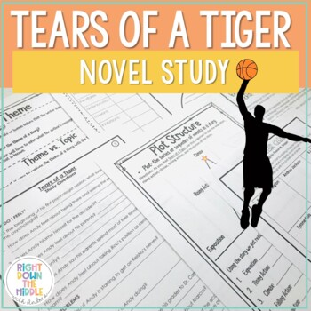 Tears of a Tiger - Novel Guide by Right Down the Middle with ...