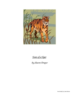 Tears of a Tiger Novel Study