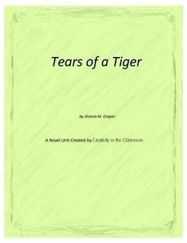 Tears of a Tiger Novel Unit Plus Grammar