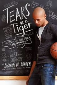 Tears of a Tiger by Sharon Draper Part 2  (Chapters 7-11) Activity Bundle
