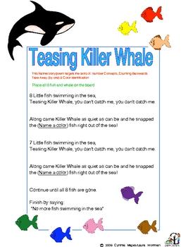 Teasing Killer Whale Song