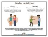 Teasing vs. Bullying
