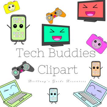 Tech Buddy Clipart