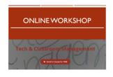Tech & Classroom Management Workshop