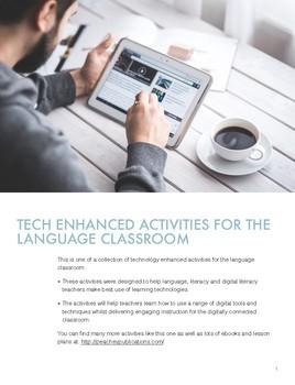 Tech Enhanced Activities - Find Someone QR