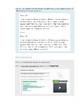 Tech Enhanced Activities - Punctuating a Text