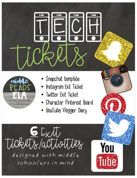 Social Media Activities and Exit Tickets