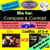 Tech Lesson - Elio Car: Compare & Contrast {Technology Lesson Plan}