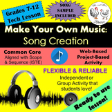 Tech Lesson - Make Your Own Music: Song Creation {Technology Lesson Plan}