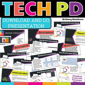 Tech PD Presentation - Book Creator