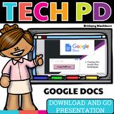Tech PD Presentation - Google Docs