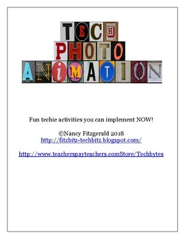 Tech Photo Animation Packet