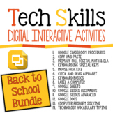 Tech Skills Back to School Bundle