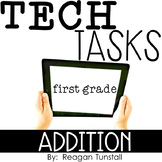 Tech Tasks Addition First Grade