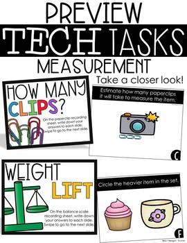 Tech Tasks Measurement First Grade
