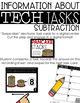 Tech Tasks Subtraction First Grade
