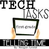 Tech Tasks Telling Time First Grade