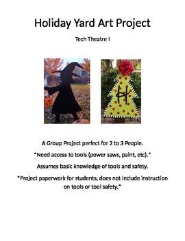 Tech Theatre Yard Art Design & Production