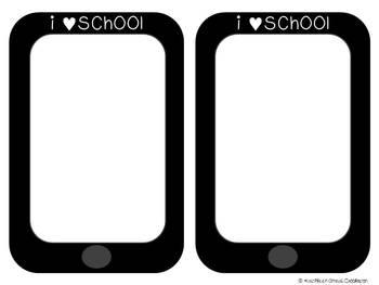 Tech. Themed Back to School Craftivity