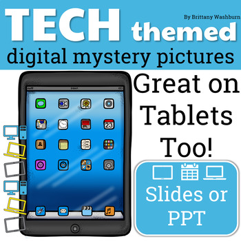 Tech Themed Digital Mystery Pictures