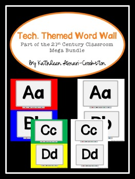 Tech. Themed Word Wall
