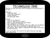 Tech Time Checklist for Home