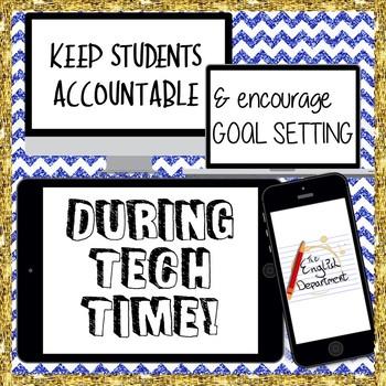 Tech Time Goal Setting and On Task Behavior Form