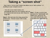 Tech Tips for Mac - Taking a Screen Shot
