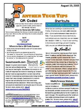 Tech Tips for Teachers 2015-2016
