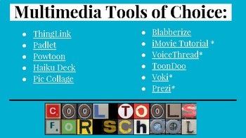Tech Tools for App Smashing Multimedia Products