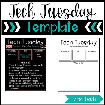 Tech Tuesday Template