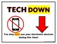 Tech Up/Down Signs