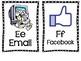 """Tech""""y"""" Alphabet Cards"""