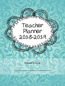 Teacher Planner for life