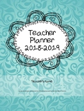 Teacher Planner for life