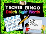 Techie Bingo - Dolch Sight Words