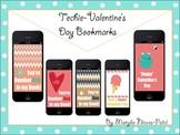 Techie-Valentine's Day Bookmarks