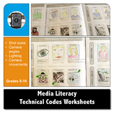 MEDIA LITERACY - Technical Codes Worksheets