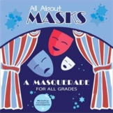 Technical Elements of Drama (Masks) - Digital and Printable