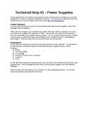Technical Help #1 - Power Supplies